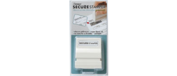 "Xstamper Secure Block out Stamper - Small, 1/2"" x 1-5/8"""